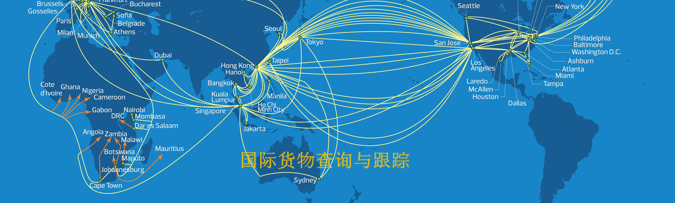 International shipment Trace and Tracking - Container Air