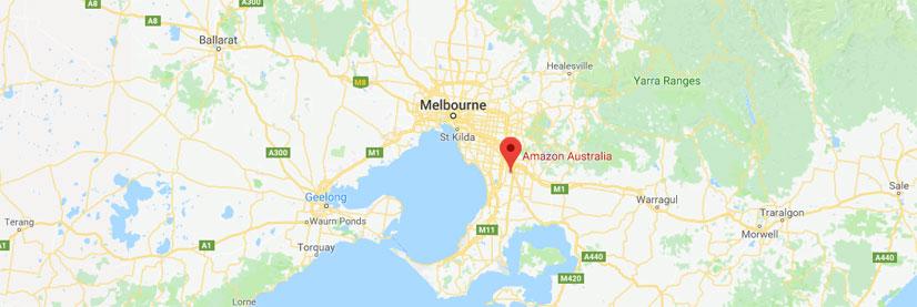 澳大利亚亚马逊仓库地址与FBA代码