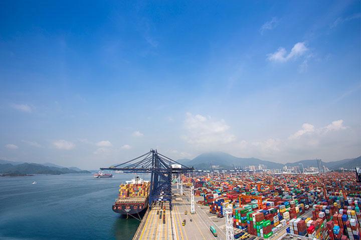 蛇口港国际海运集装箱码头